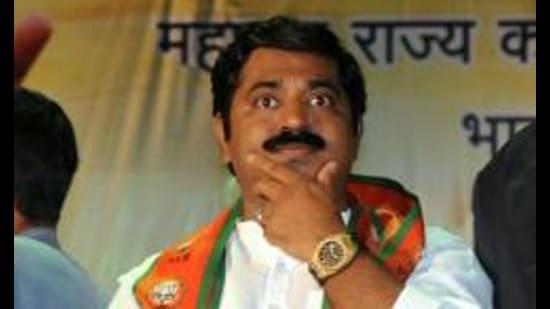 BJP MLA Ram Kadam. (HT Archive)