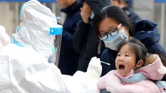 The silent spread of the virus amply shows that asymptomatic patients have increasingly become a great challenge for China's epidemic prevention and control efforts.(AP)