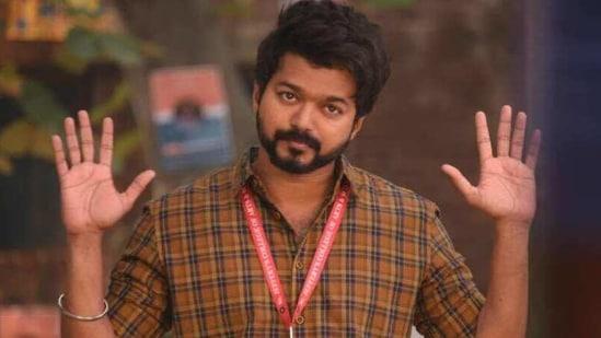 Vijay in a still from Master.