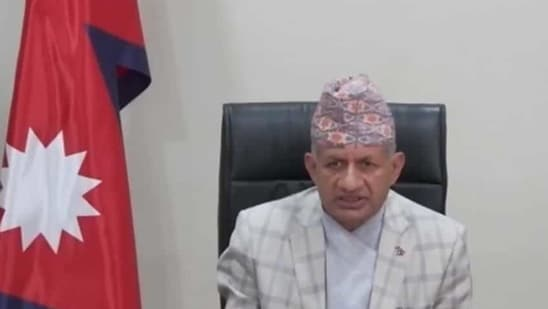 Foreign Minister Pradeep Gyawali is the senior-most Nepalese leader to visit India since the Covid-19 outbreak.(ANI)