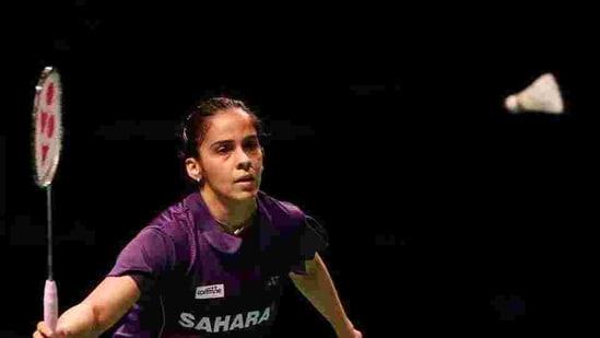File photo of Saina Nehwal of India.(Getty Images)