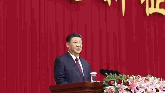 President Xi Jinping, 67, who has become China's most powerful leader after Mao Zedong since he came to power in 2012.(Xinhua via AP)
