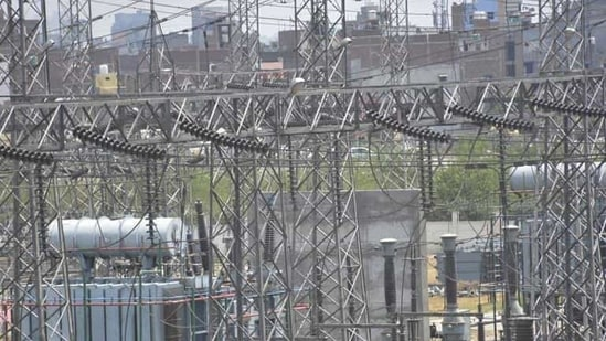 A file photo of a power plant.(HT File Photo)
