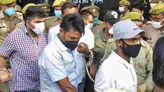 Siddique Kappan and three other alleged Popular Front of India activists were booked by the UP police on sedition and other serious charges in Mathura on October 5 last year while they were heading to Hathras(PTI Photo)