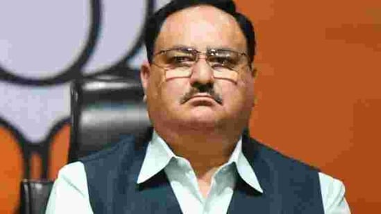 Bharatiya Janata Party president JP Nadda(Raj K Raj/HT photo)
