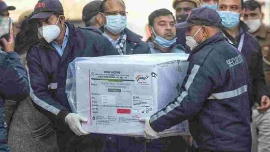 At the Delhi airport, a team comprising officials of the Airports Authority of India, ministry of civil aviation, health ministry, Delhi airport operator and Central Industrial Security Force received the vaccines and shifted them to the cargo terminal, where they are being stored in temperature controlled units. (Representative Image)