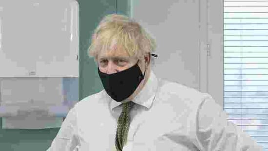 Britain's Prime Minister Boris Johnson visit to India has been called off.(AP)