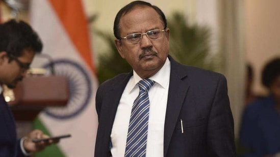 NSA Ajit Doval's visit to Kabul comes at a time the troubled Afghan peace process between the government and the Taliban is very delicately poised.(Hindustan Times/Vipin Kumar)