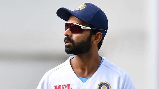 Indian captain Ajinkya Rahane.(AFP)