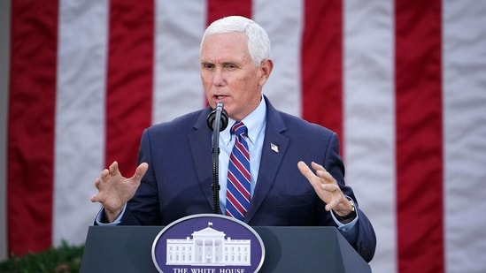 US Vice President Mike Pence rejected invoking 25th Amendment(AFP)