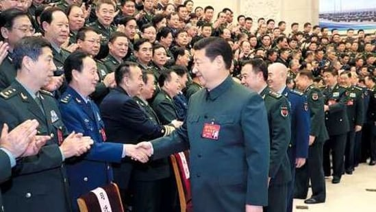 There is evidence to indicate that the PLA's work and engineering force deployed to upgrade infrastructure in occupied Aksai Chin moved back after completion of work last month