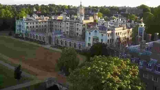 Cambridge University. (Screengrab)