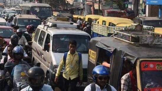 An officer of the transport department said that the deadline for plying of diesel autos was extended in keeping with the public interest,(HT File photo )