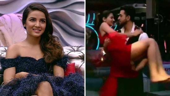 Jasmin Bhasin reacted to Nikki Tamboli having feelings for Aly Goni.
