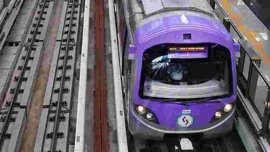 The city's metro railway services resumed from September 14 after remaining closed for several months owing to the Covid-19 pandemic-related lockdown.(Representative Photo/PTI)