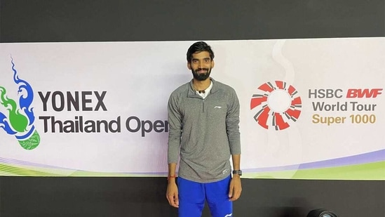 File image of Kidambi Srikanth(Twitter)