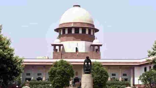 """On Tuesday, a three-judge SC bench, headed by Chief Justice of India (CJI) SA Bobde, had said: """"We are of the view that a stay of implementation of all the three farm laws for the present may assuage the hurt feelings of the farmers and encourage them to come to the negotiating table with confidence and good faith.""""(HT PHOTO)"""