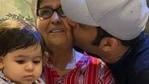 Kapil Sharma with his mother and daughter Anayra.
