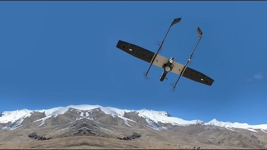 A high-altitude variant of the company's Switch UAV (unmanned aerial vehicle) will be delivered over a period of a year.