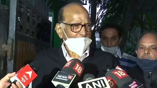 NCP Chief Sharad Pawar old reporters that Munde met him on Wednesday and explained the details in connection with the allegation. (ANI File Photo)