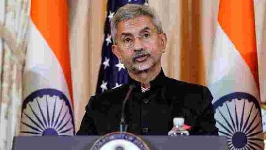 Minister of external affairs Subrahmanyam Jaishankar.(Reuters File Photo )