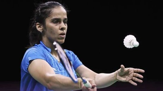 File photo of Indian shuttler Saina Nehwal(REUTERS)