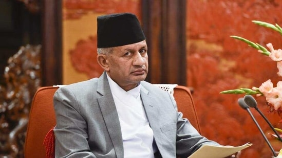 Foreign minister Pradeep Gyawali is the senior-most Nepalese leader to visit India in more than a year after the Covid-19 outbreak. (HT PHOTO).
