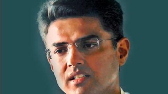 Rajasthan Congress leader Sachin Pilot. (File photo)