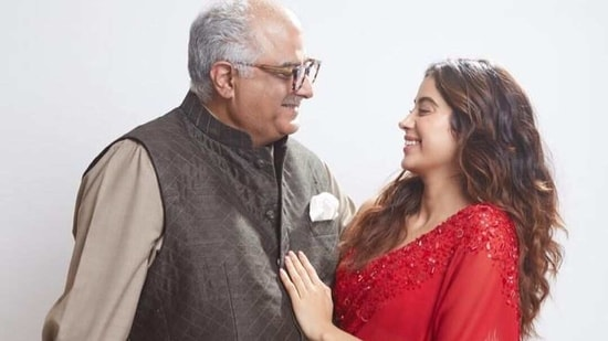 Janhvi Kapoor told Boney Kapoor about the deception only recently.