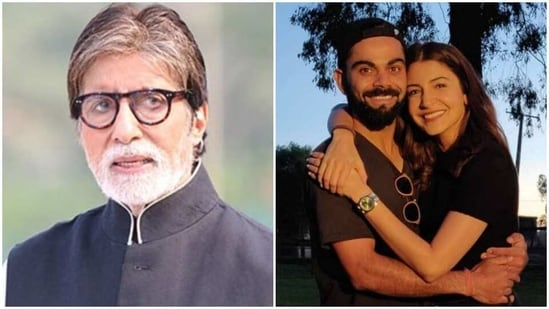 Amitabh Bachchan has tweeted about Virat Kohli, Anushka Sharma and the couple's baby daughter.
