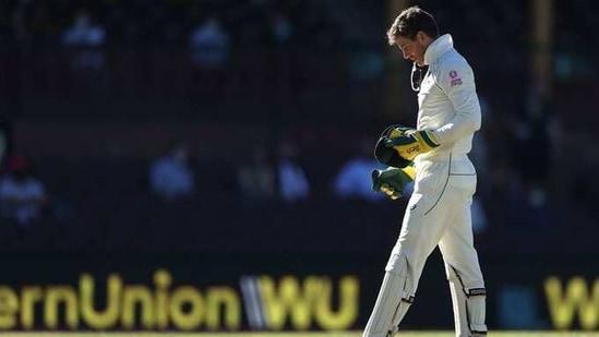 Photo of Australian Test captain Tim Paine(Twitter)