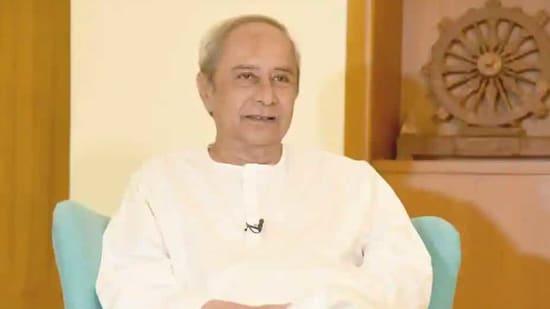 Odisha Chief Minister Naveen Patnaik.(HT file)