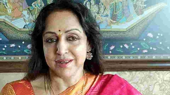Hema Malini claimed the Opposition was misleading the farmers(ANI)