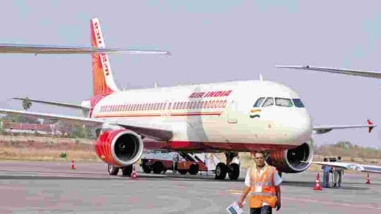 The Air India flight AI 108 from Chicago to Hyderabad will operate on Wednesdays, with a Boeing 777-200LR aircraft with a seating capacity of 238 people. (BLOOMBERG).