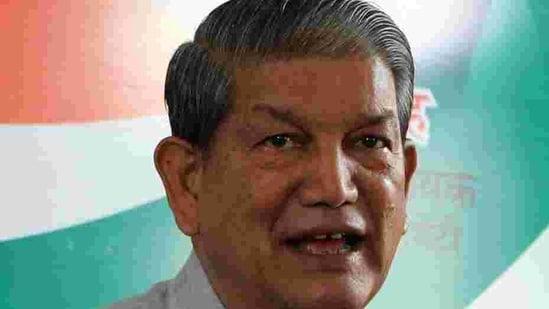 Former Uttarakhand chief minister Harish Rawat.(HT Photo)