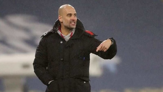 FILE PHOTO: Manchester City manager Pep Guardiola(REUTERS)