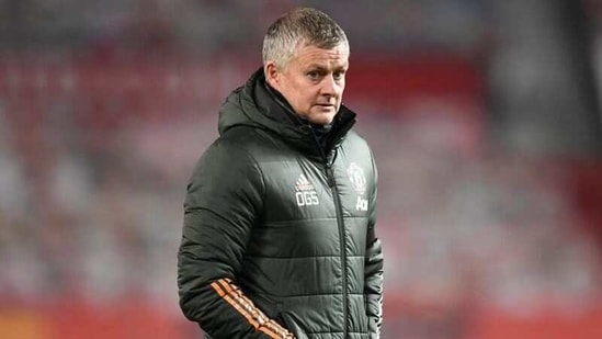 File photo of Manchester United manager Ole Gunnar Solskjaer(Pool via REUTERS)
