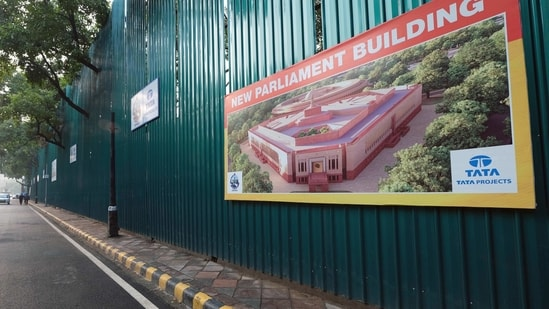 Tata Projects Limited emerged as the lower bidder for the tender to construct the new Parliament complex by quoting a bid of Rs.861.90 crore when the financial bids for the project opened on September 16(Bloomberg)