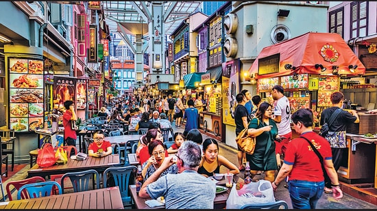 Singapore's hawker stalls are a beloved part of city life. But even the regulated model has flaws. New chefs find it hard to survive, get subsidies, and innovate. (SHUTTERSTOCK)