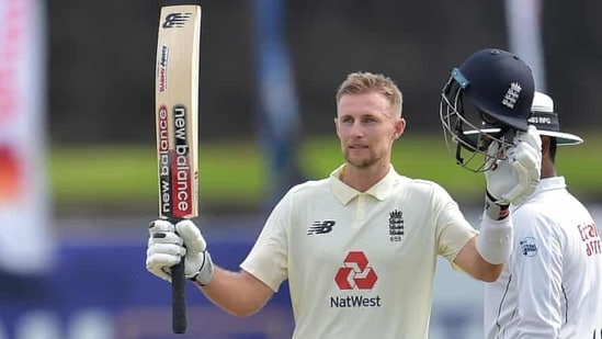 England Test captain Joe Root scores a century against Sri Lanka on Day 2 of first Test in Galle(Twitter)