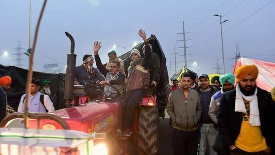 Farmers said on Friday, the ninth round of talks also failed with the government and every failed negotiation had only further strengthened their spirit and has fuelled the ongoing agitation.(HT_PRINT)