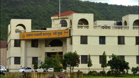 Taloja jail in Navi Mumbai. (Bachchan Kumar/HT photo)