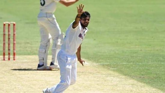Photo of Indian left-arm pacer T Natarajan(Twitter)