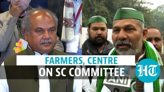 Farmers, Centre on SC committee