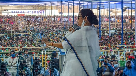 West Bengal has witnessed political turmoil and frequent clashes between the ruling TMC and challenger BJP over the last couple of years.(PTI file photo)