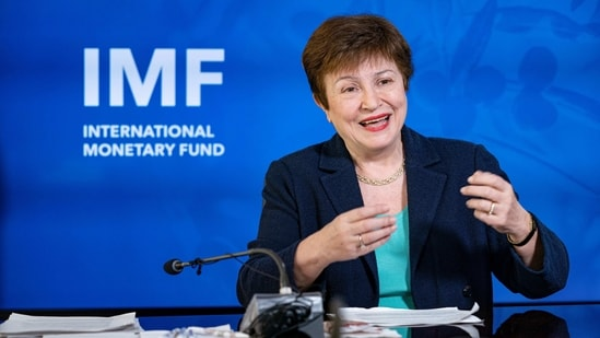 International Monetary Fund (IMF) Managing Director Kristalina Georgieva said that she is impressed by the appetite for structural reforms that India is retaining.(PTI)