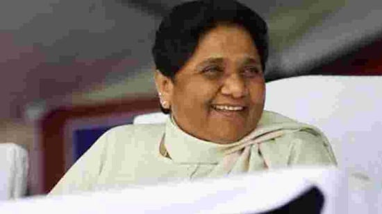 BSP chief Mayawati also urged the Centre to accept all the demands of agitating farmers including repeal of the three farm laws(ANI photo)
