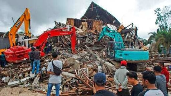 Indonesia Quake Kills 35 Injures Hundreds What We Know So Far Hindustan Times