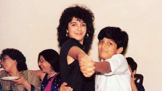 Farah Khan has shared a throwback picture with Farhan Akhtar.