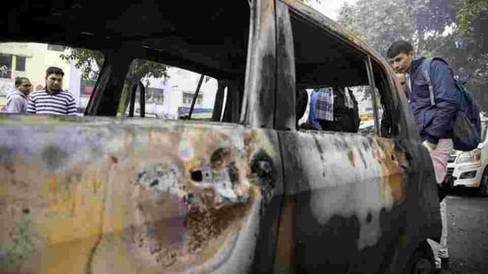 The retired air force officer's body was found charred inside his burnt out car. (ANI file photo/Representational use)